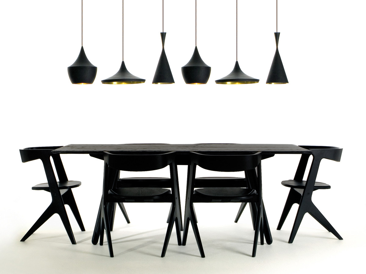 tom-dixon-beat-lights-above-tom-dixon-slab-dining-table-and-slab-chairs