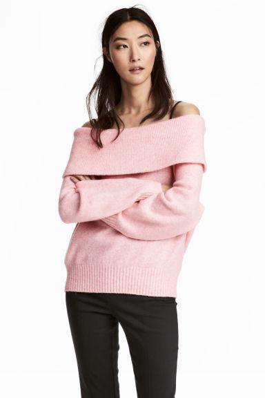 maglione-rosa